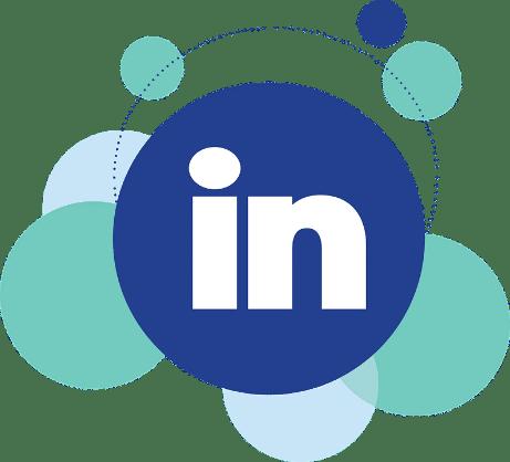 social media LinkedIn logo